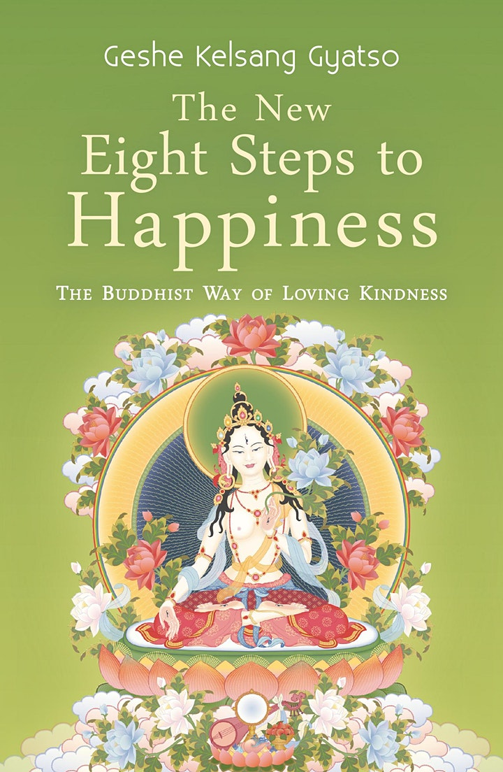 Book talk: The New Eight Steps to Happiness with Mick Marcon image
