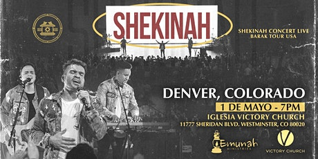 SHEKINAH CONCERT LIVE DENVER 2021 tickets