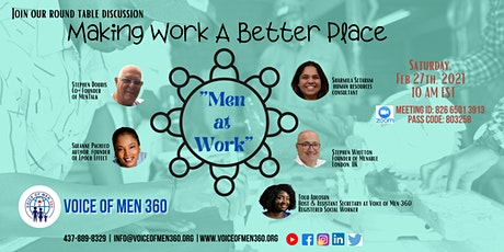 "Making Work A Better Place - ""Men at Work"" tickets"