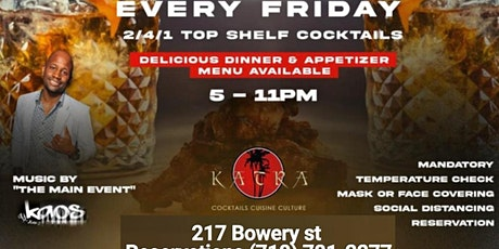 Katra Fridays Afterwork tickets