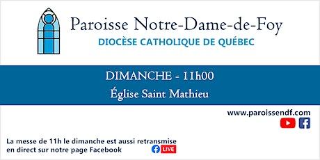 Messe Église Saint-Mathieu - Dimanche - 11h billets