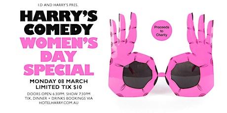 Harry's Comedy - International Women's Day tickets