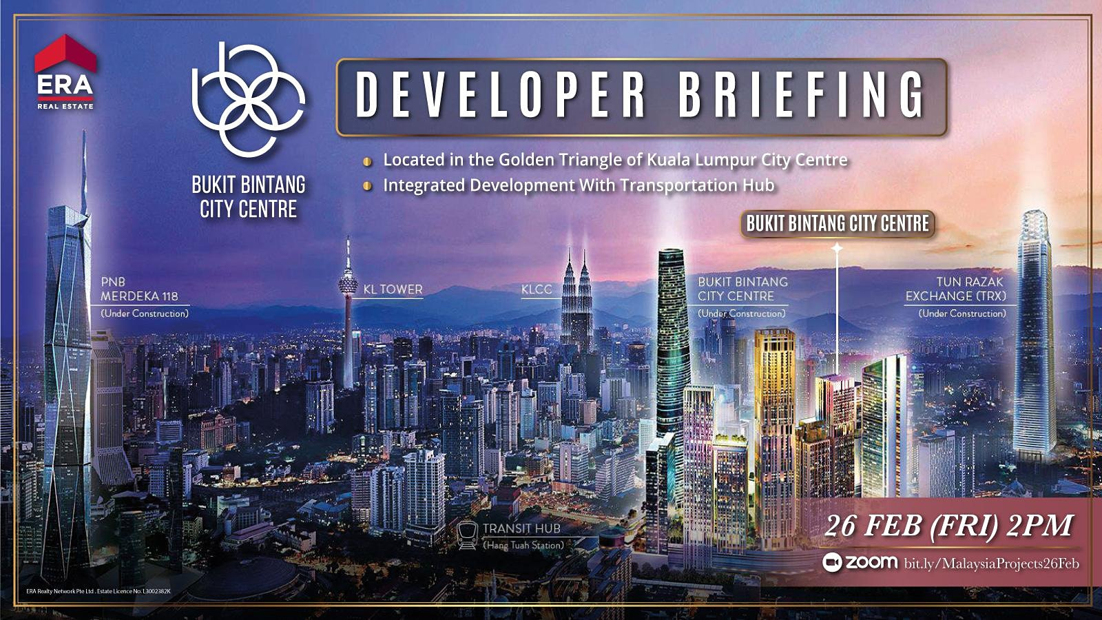 Bukit Bintang Developer Briefing