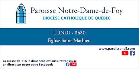 Messe Église Saint-Mathieu - Lundi - 08h30 billets