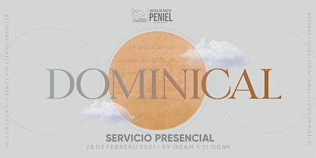 Segundo Servicios Dominical entradas