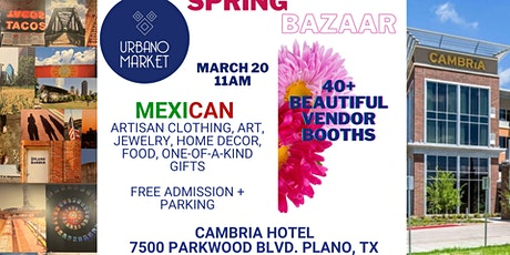 Spring Bazaar tickets