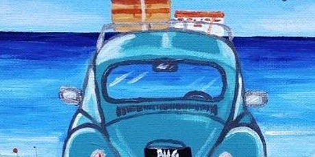 Paint and Sip VW on Beach tickets