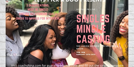Single Mingle Casting tickets