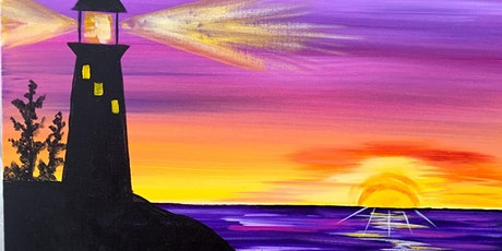 Paint and Sip Light house tickets