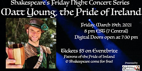 Shakespeare's Friday Night Concert Series: The Pride of Ireland! tickets