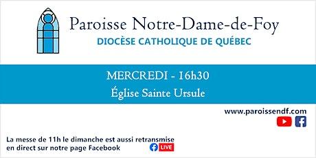 Messe Église Sainte-Ursule - Mercredi  - 16 h 30 tickets