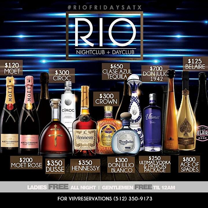 Rio Fridays ATX image