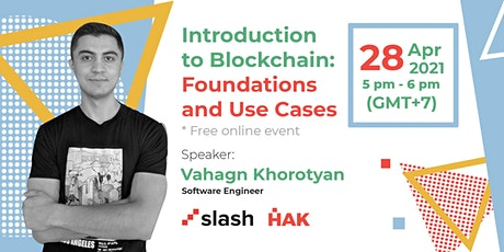 Introduction to Blockchain: Foundations and Use Cases tickets