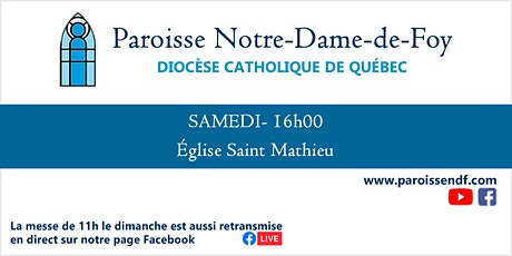Messe Église Saint-Mathieu - Vendredi - 10 h 45 tickets