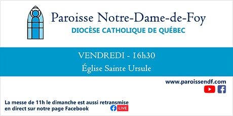 Messe Église Sainte-Ursule - Vendredi - 16 h 30 tickets