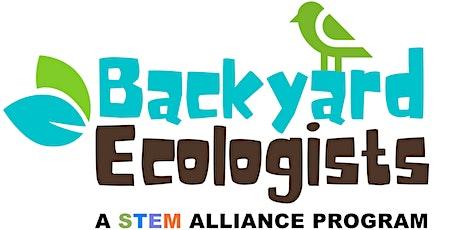 Backyard Ecologist boletos