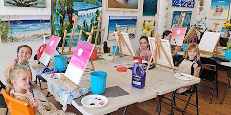 Kids Painting Class Giraffe tickets