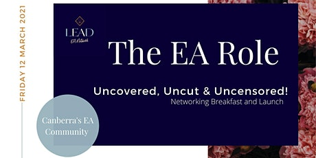 The EA Role - Uncovered, Uncut and Uncensored! tickets