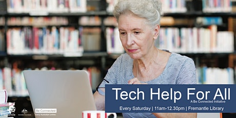 Tech Help For All - Using a tablet or iPad tickets
