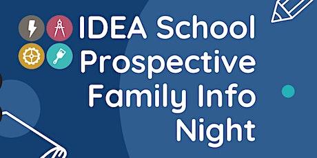 IDEA School Prospective Family Info Night tickets