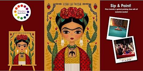 Museica's BYOB Sip & Paint - FRIDA KAHLO tickets