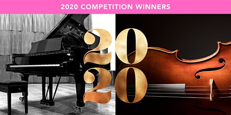 First Prize Winners of the 2020 B&B Piano and ABI String Competition billets