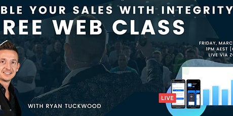 Double your Sales with Integrity FREE Web Class tickets