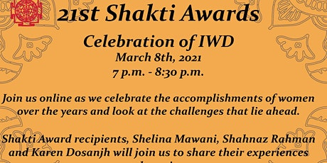 Shakti Awards 2021 tickets