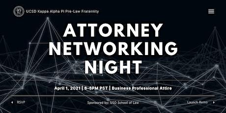 Attorney Networking Night 2021 tickets