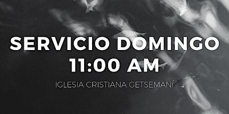 Servicio 11:00 am tickets