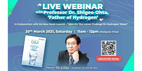 Live Webinar with Prof. Dr. Shigeo Ohta tickets