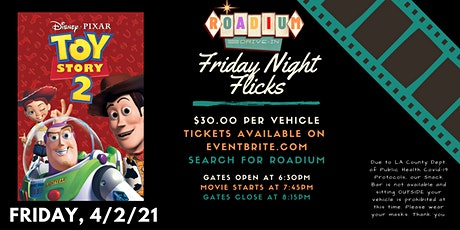 TOY STORY 2 - Presented by The Roadium Drive-In tickets