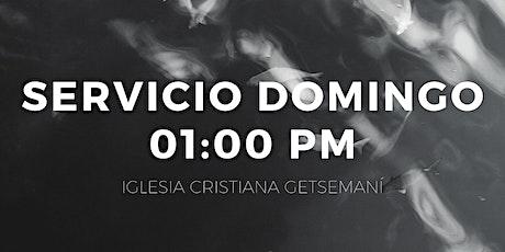Servicio 01:00 pm tickets