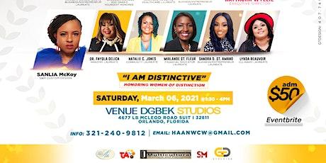 "2021 Ninth Annual Women Celebrating Women ""I Am Distinctive"" tickets"