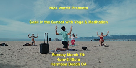 Soak in the Sunset with Yoga & Meditation tickets