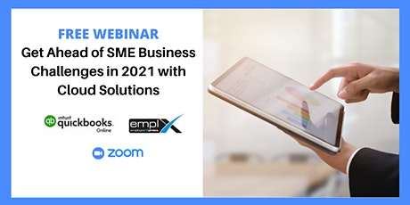 FREE - Get Ahead of SME Business Challenges in 2021 with Cloud Solutions tickets