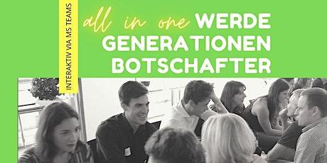Online-Kurs Generationen Botschafter  in einer interaktiven Woche Tickets