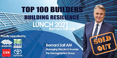 Top 100 Builders - Building Resilience tickets