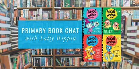 Primary Book Chat with Sally Rippin tickets