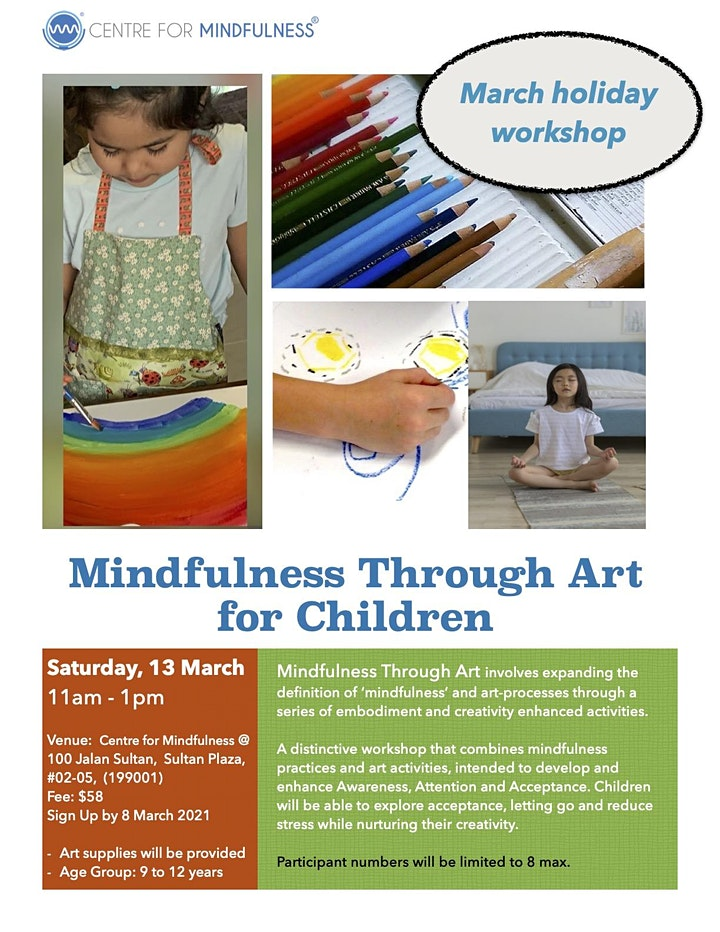 Mindfulness Through Art for Children image