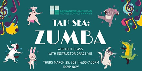 TAP-Sea: Zumba workout class with Grace tickets