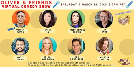Oliver & Friends Comedy Show - Virtual Edition tickets
