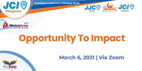Opportunity To Impact: New Member's Orientation tickets