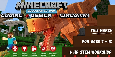 Coding with Minecraft (For Ages 7 - 12) tickets