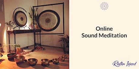 Online Sound Bath Meditation @ Home Sweet Home tickets