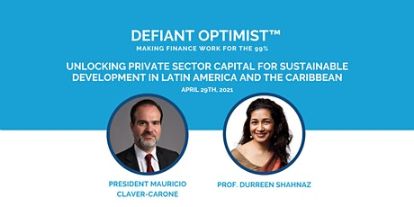 Defiant Optimist Series - President Mauricio Claver-Carone tickets