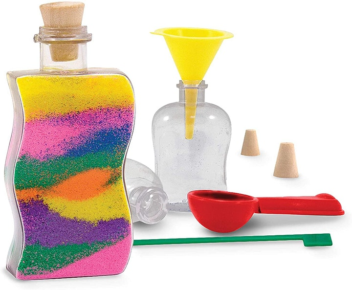 English for Kids - Coloured Sand Art with CAROL (all ages) image