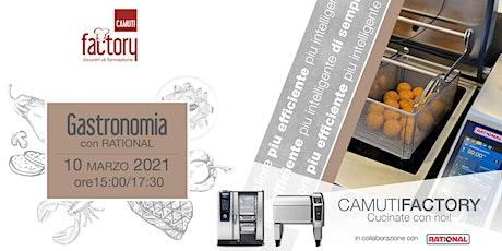 Gastronomia con  iCombi Pro Rational biglietti
