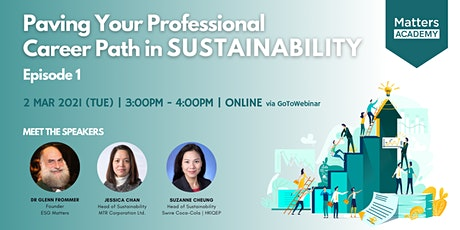 Paving Your Professional Career Path in Sustainability - Episode 1 tickets