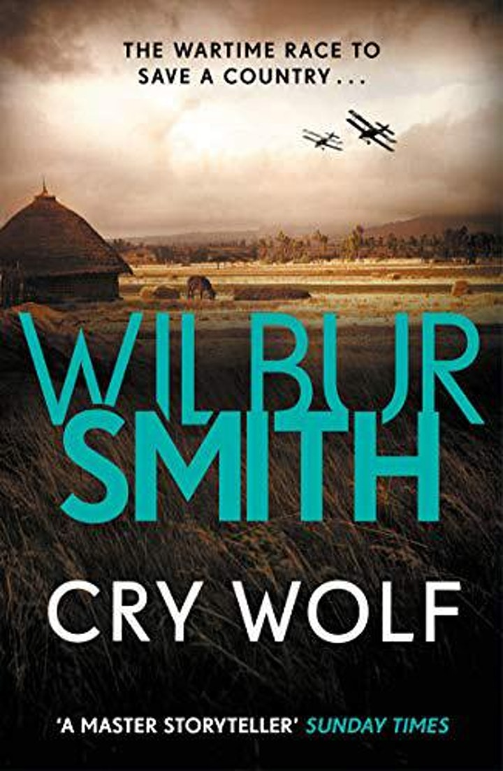 Online Book Club - Cry Wolf by Wilbur Smith image